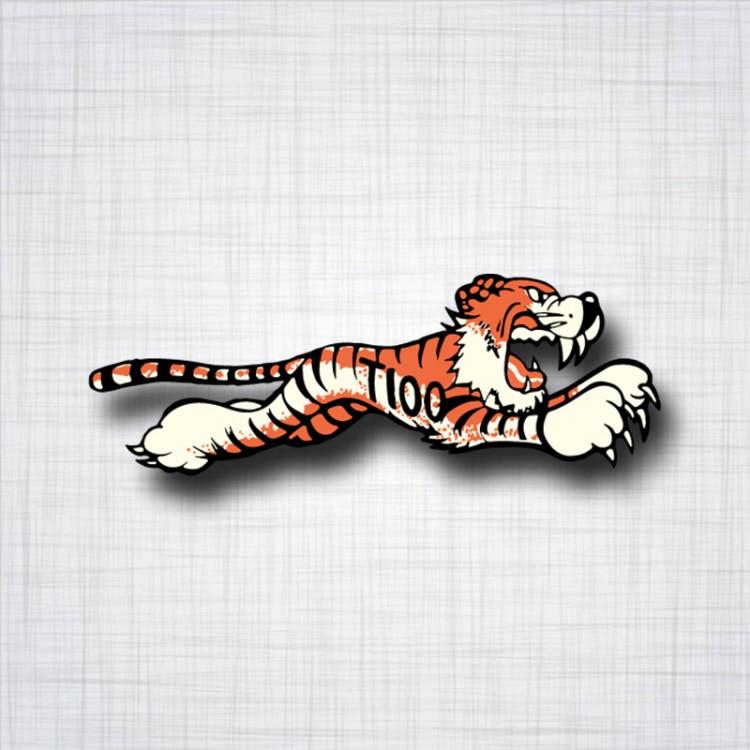 Sticker Tigre Triumph T100
