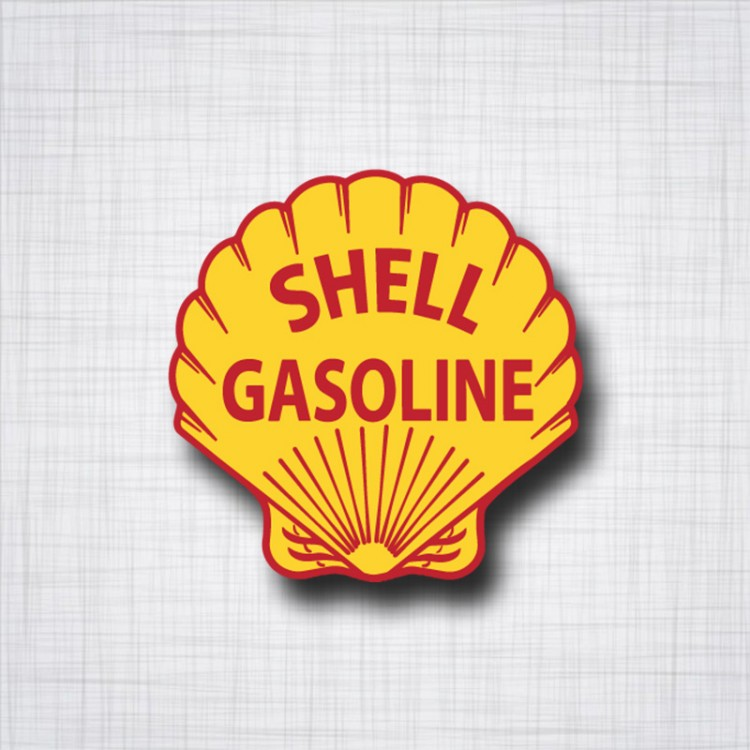 Sticker SHELL Gasoline