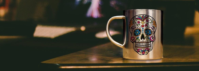 Mug inox vintage